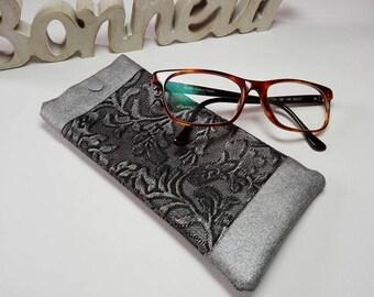 Imitation and coated cotton glasses case
