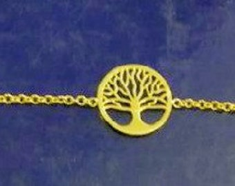 18k Gold Tree of Life bracelet