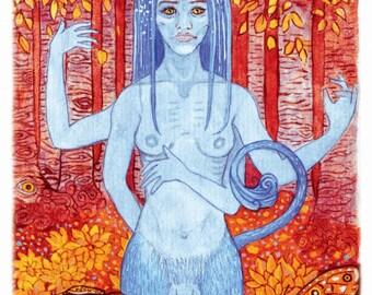 Birch Grove - A4-Eco-Art-Print