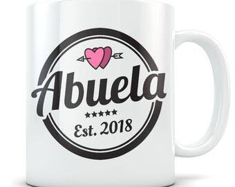 Abuela Gift, Abuela Mug, Best Abuela Gift, Gifts for Abuelas, Best Abuela Mug, Abuela Coffee Mug, New Abuela Gift, New Abuela Mug