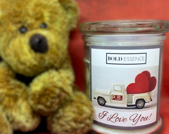 P.S. I Love You! - Scented Soy Candle