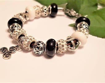 Breton European beaded bracelet
