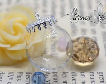 20mm, glass vial, bottle, hat