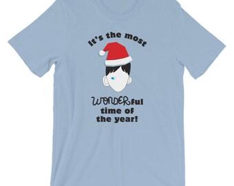 Choose Kind Wonder Christmas Unisex T-Shirt black logo Wonder movie anti bullying kindness Christmas gift present classroom teachers