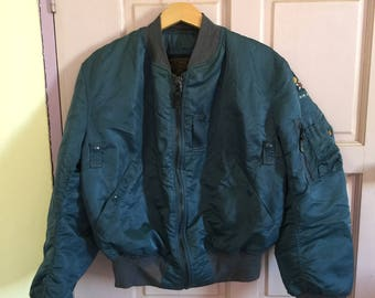 Vintage Alpha Industries Bomber Jacket MA1