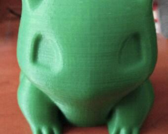 Bulbasaur Planter 3D Printed   Pokemon Planter