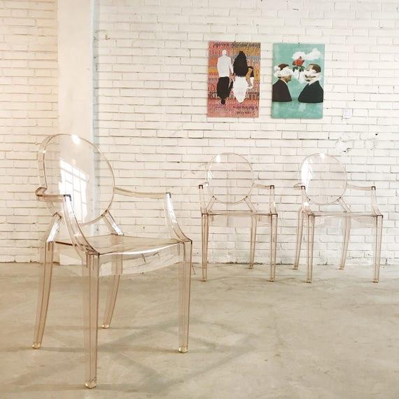 Sedia Louis Ghost Kartell Philippe Starck