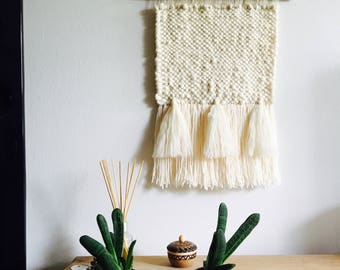 Wall Hanging Soft White