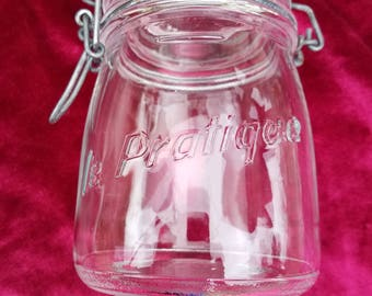 French canning jar
