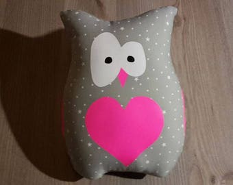 louisette Grey Owl plush