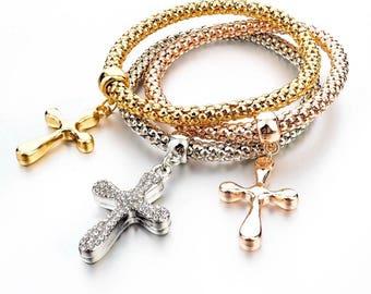 Holy Cross bracelets