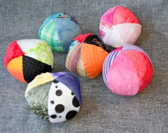 Small Sensory Ball with Crinkle