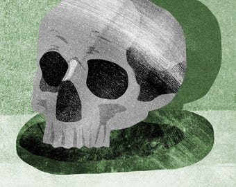 Hamlet Illustrated Art Print (A3)