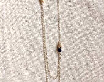 Necklace asymmetrical necklace