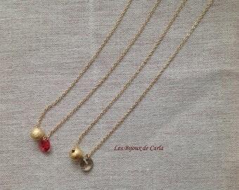 Golden Ball Choker necklace