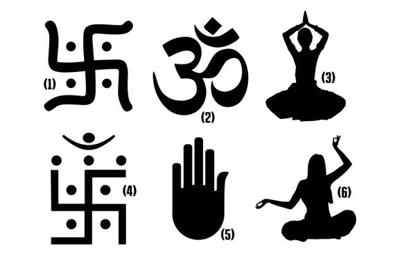 Hinduism / Hindu Religion Vinyl decal for Window / Laptop / Phone, High quality Vinyl Decal Transfer Sticker