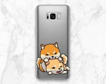 Shiba case Case for Samsung Phone case dog Phone case cute s6 case Cute dog case Galaxy Note 8 case Shiba inu case Galaxy s8 Plus MAsa_073