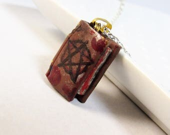 Book of Darkness Necklace -