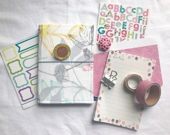 Floral Fauxdori, Midori, Travelers Notebook, Fabricdori Notebook Cover