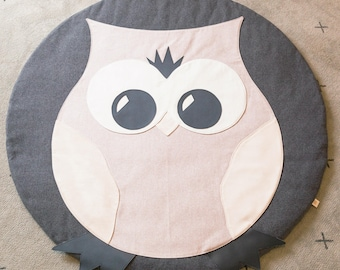 Hooty Owl Playmat 1200mm diameter
