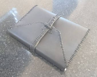 Handmade Faux-Leather Sketchbook/ Journal
