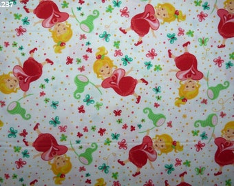 C237 girl Butterfly coupon 35x50cm NET fabric