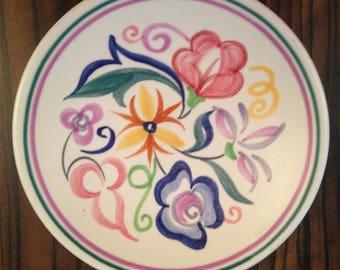 Poole Pottery small circular pin dish 5 inch diameter (13cm)