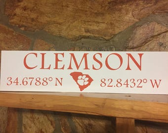 Clemson Coordinates