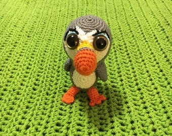 Amigurumi Puffin crochet, Puffin amigurumi, puffin  rock, amigurumi character, puffin toys crochet