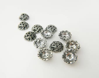 12 x Cup silver 12mm (l350)