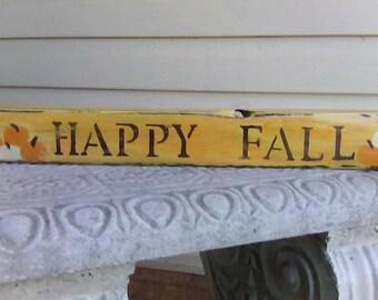 Decorative Fall Autumn Wood Sign