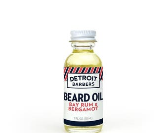 1 oz. Beard Oil - Bay Rum & Bergamot