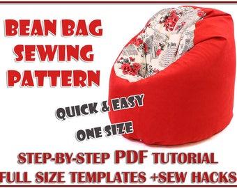 Adult Bean Bag Etsy