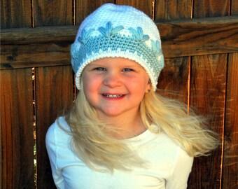 Winter Snow Hat, Crochet Hat, Trendy Beanie, Trendy Hat, Winter Hat, Winter Beanie, Crochet Girl Hat, Beanie, Trendy Hat Girl, Crochet Hat