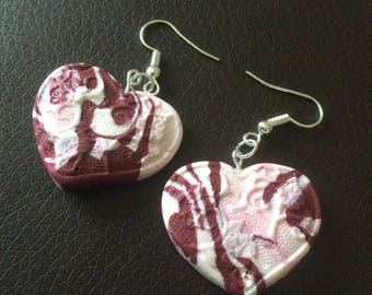 Earrings hearts for various occasions!