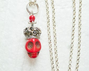 Her Royal Magesty red necklace