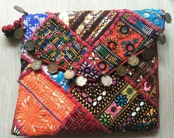 Indian Embroidery Clutch