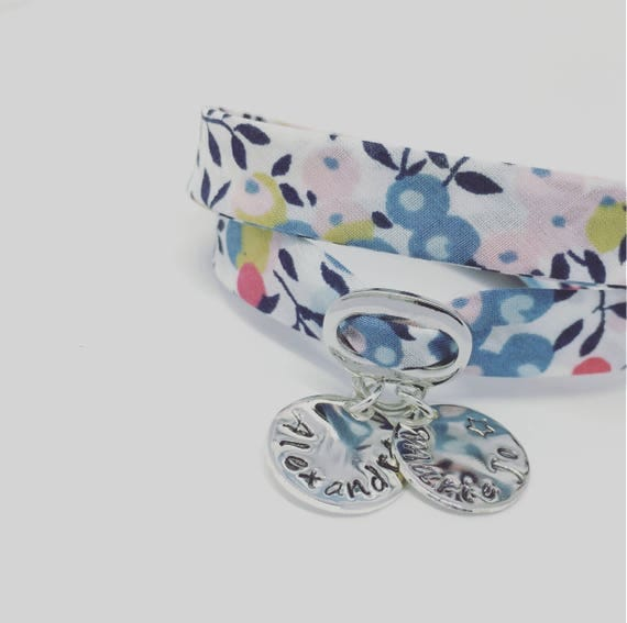 Personalized Bracelet GriGri XL Liberty with any 2 prints