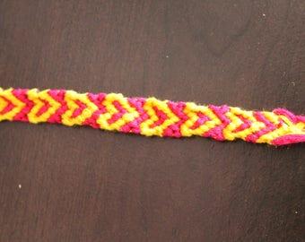 Hollow Heart Friendship Bracelet