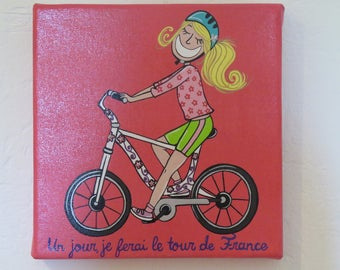 Table 20 x 20: someday, I will make the tour de France for girl
