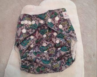 Alva Baby Cloth Diaper & Inserts