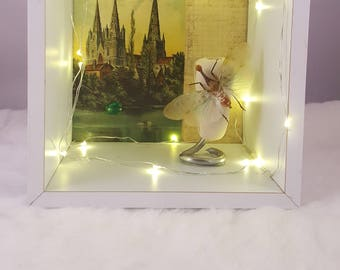 Lantern Bug Art Piece