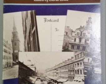 Old Boston postcard book
