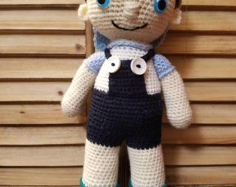 Toby Crocheted Doll