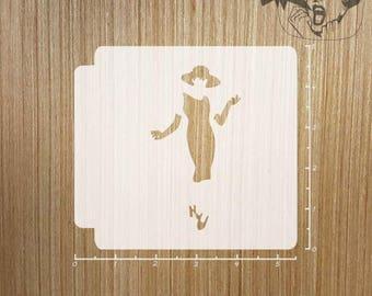 Woman Silhouette  783-173 Stencil