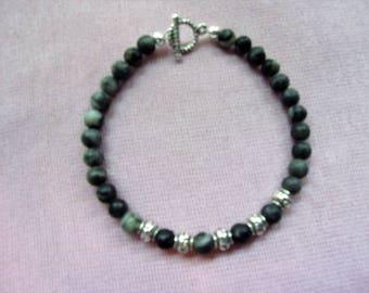 Men's Black Marble bracelet