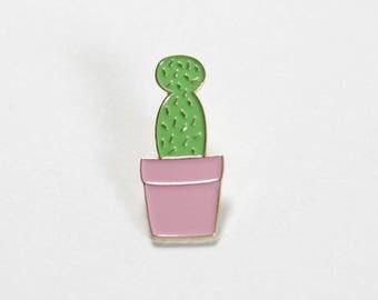 Cactus Enamel Lapel Pin
