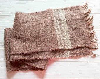 mohair scarf, vintage scarf, scarf 1960, scarf 100% mohair
