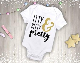 Itty Bitty & Pretty Onesie