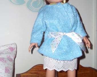 "18"" doll Nightgown and Robe set 320E"
